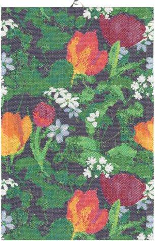 Handduk - Vårblom