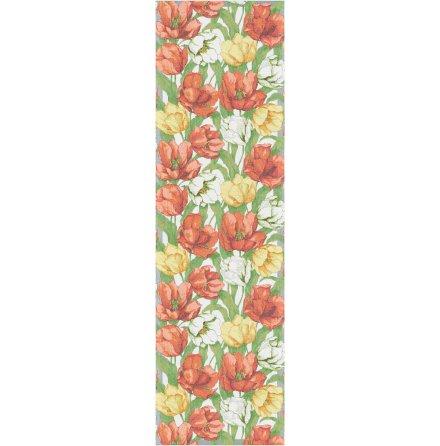 Bordslöpare - Blommande tulpaner