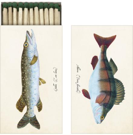 Tändsticksask Fiskar