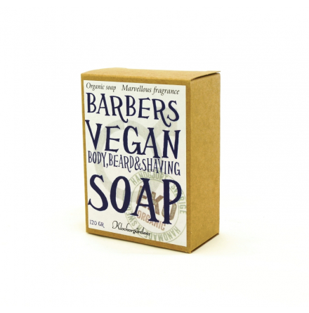 Barber vegan soap