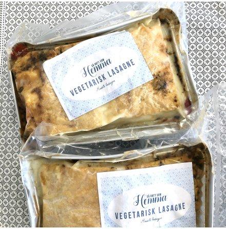 Fryst rätt vegetarisk lasagne