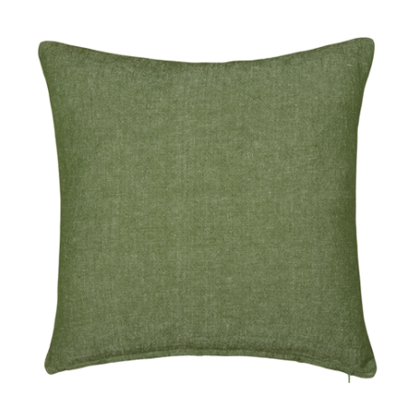 Kuddfodral Viktoria grön/vit