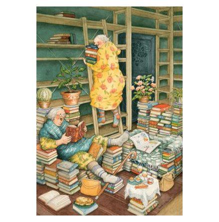 Kort - Gummor i biblioteket