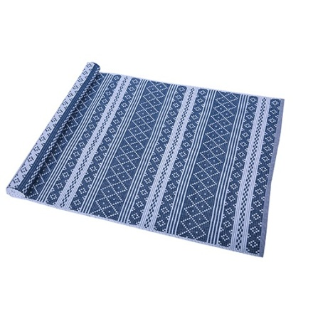Ripsmatta Erik 50x80 cm blå/vit