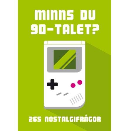 Kortspel - Minns du 90-talet