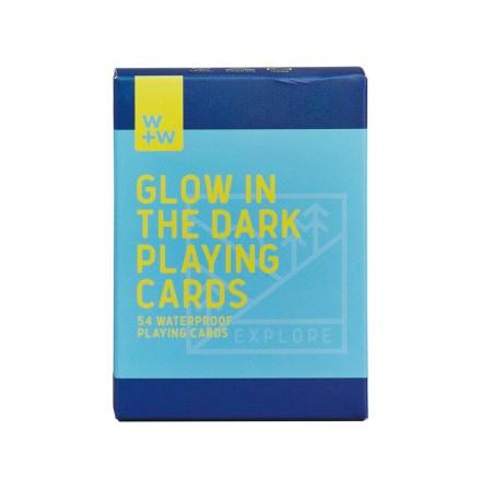 Spelkort som lyser i mörkret