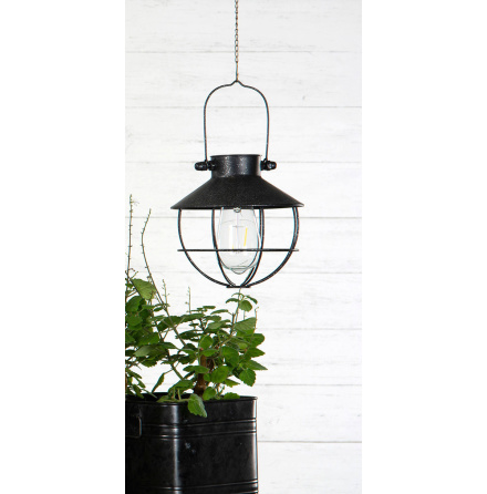 Lampa, solcell med led