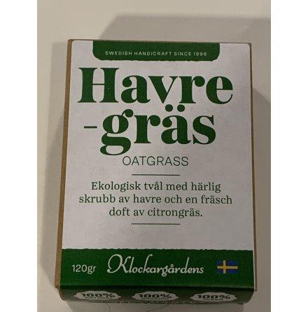 Ekologisk tvål - Havregräs