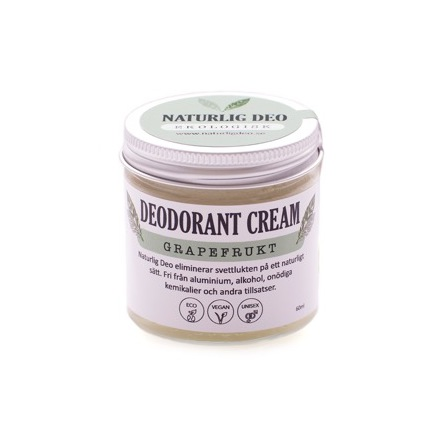 Deodorant Cream grapefrukt