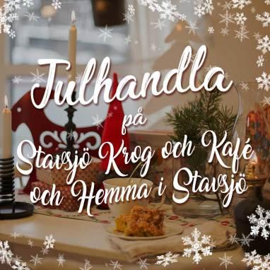 Julhandla och ät lunch