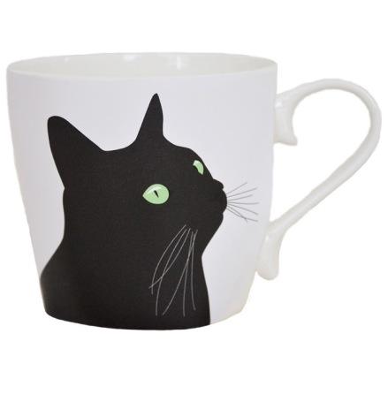 Mugg - Svarta katten