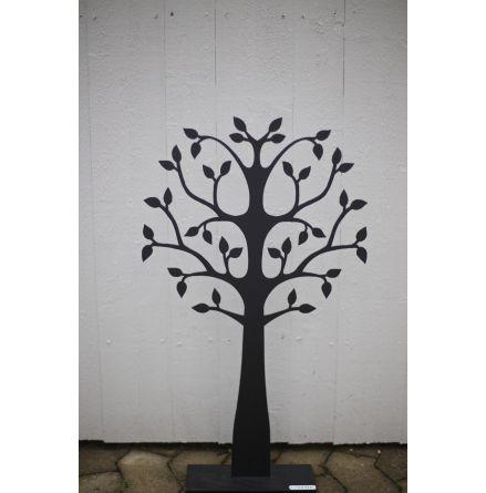 Dekorationsträd svart