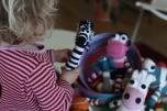 Skallra Mjukdjur Zebra